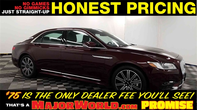 Pre-Owned 2018 Lincoln Continental Reserve