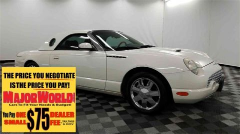 Pre-Owned 2002 Ford Thunderbird Base